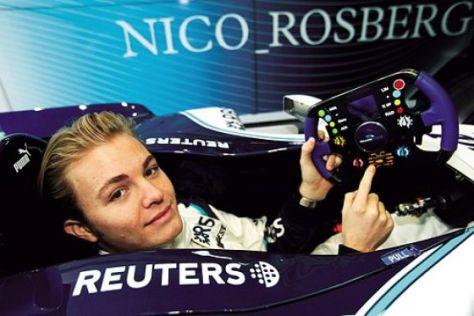 Exklusive Serie mit Nico Rosberg