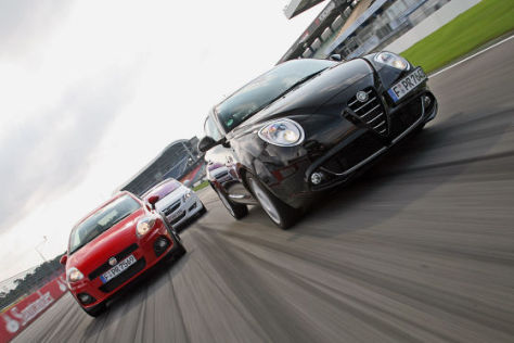 Fiat Grande Punto Abarth Opel Corsa GSi Alfa Romeo MiTo 1.4 TB