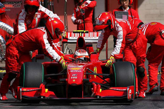 Formel-1-Test Barcelona 2009, Kimi Räikkönen Ferrari F60