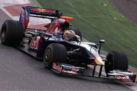 Sébastien Bourdais scheint vom neuen STR4 nicht vollends überzeugt