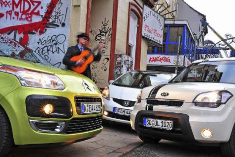 Kia Soul Citroën C3 Picasso Honda Jazz