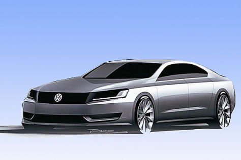 VW New Midsize Sedan
