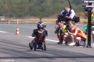 Bobby-Car-Weltrekord!
