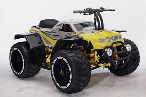 Bulldog R/C Rider Ferngelenktes Auto zum Mitfahren
