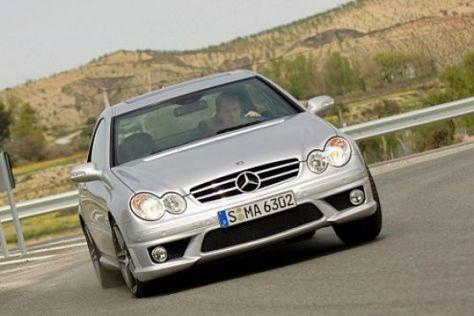 Unterwegs mit dem neuen AMG-V8