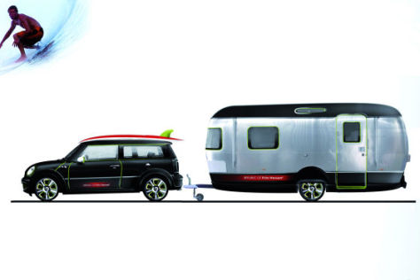 Design-Studie Mini + Airstream