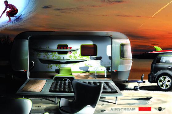 Design-Studie Mini + Airstream