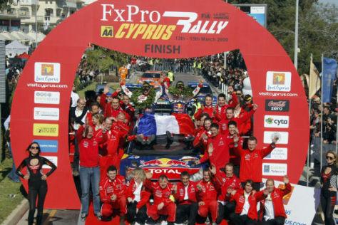 WRC Rallye Zypern 2009 Loeb/Elena Citroen C4