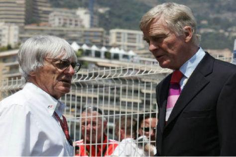 Bernie Ecclestone hätte sich Max Mosley auch als Premier vorstellen können