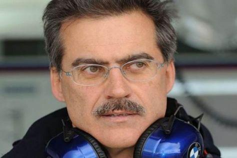 Vorsichtig optimistisch: Mario Theissen möchte 2009 um den WM-Titel kämpfen