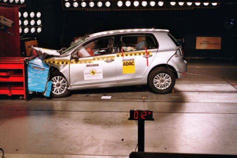 Crashtest VW Golf VI