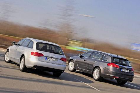 Opel Insignia Sports Tourer Audi A4 Avant