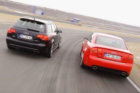 Audi RS4 gegen Abt AS4 R
