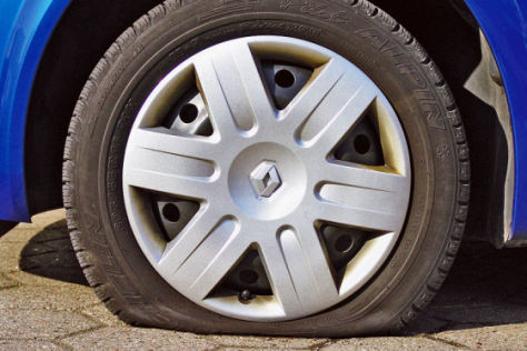 Beim Reifengeschäft ist die Luft raus
