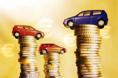 Geld Münzen Autos