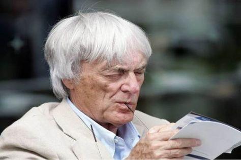 Hat die Formel 1 auch mit 78 Jahren noch voll im Griff: Bernie Ecclestone