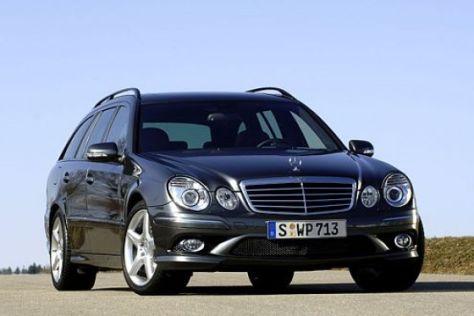 AMG-Sportpaket für die Mercedes E-Klasse