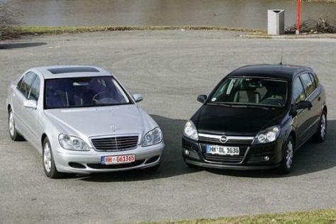 Neuer Astra vs. gebrauchte S-Klasse