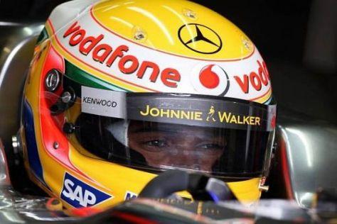 Lewis Hamilton wird mit dem neuen MP4-24 wohl nicht weit vorne fahren können