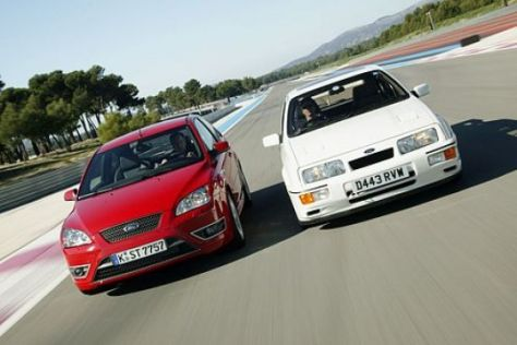 Vergleich Sierra RS Cosworth – Focus ST