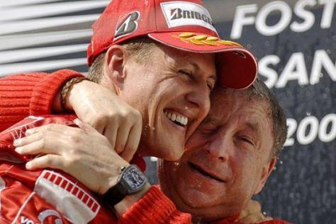 Schumacher und Ferrari
