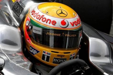 Lewis Hamilton in Nöten: Wird McLaren-Mercedes tatsächlich hinten sein?