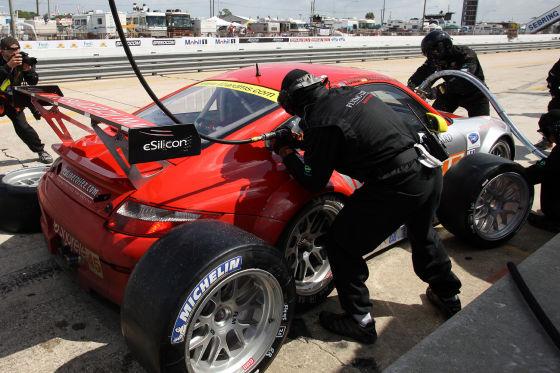 ALMS Sebring 2009, Porsche 911 GT3