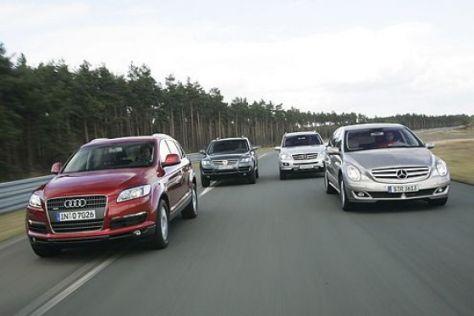 Test Audi gegen Mercedes und VW