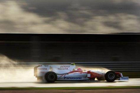 Bei den Testfahrten konnte der neue Toyota TF109 meistens überzeugen
