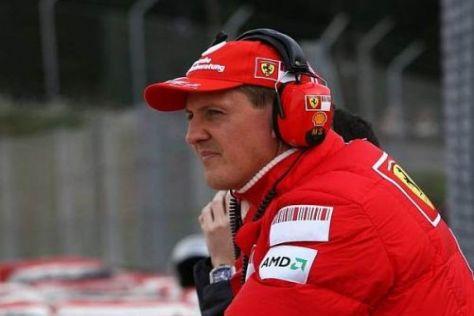 Michael Schumacher soll bei Ferrari wichtige Hinweise zum Setup geben