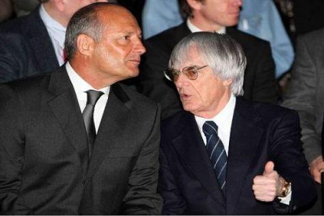 Haben keineswegs nur Gemeinsamkeiten: Ron Dennis und Bernie Ecclestone