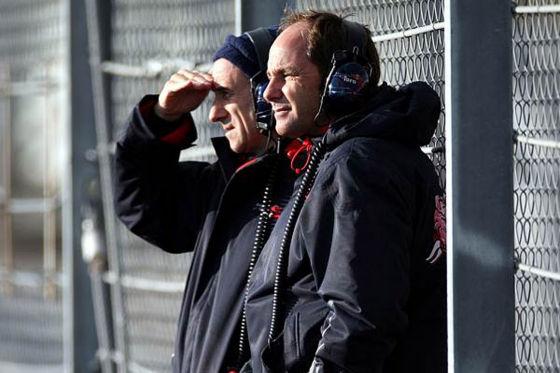 Formel-1-Saison 2009, Franz Tost (links) und Gerhard Berger