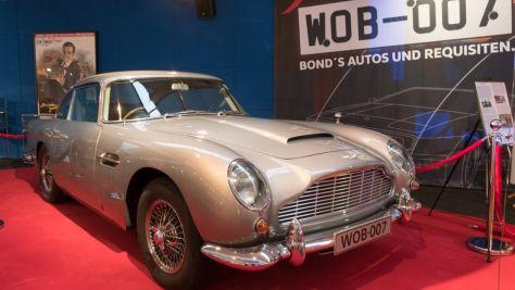 Sonderausstellung: 007-Autos