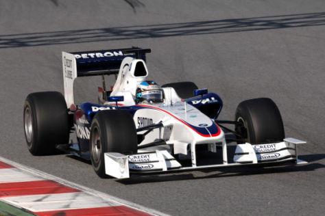 Formel–1–Saison 2009, Team BMW Sauber F1.09