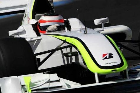 Rubens Barrichello rechnet sich beste Siegchancen zum Auftakt aus