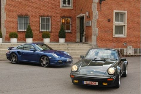 Porsche 911 Turbo gestern und heute