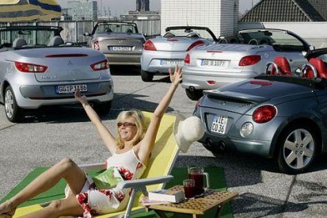 Günstige Cabrios mit Blech-Klappdach