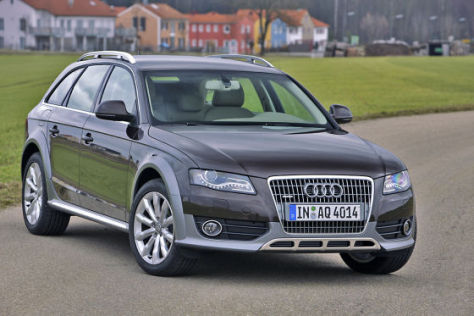 Test audi a4 allroad