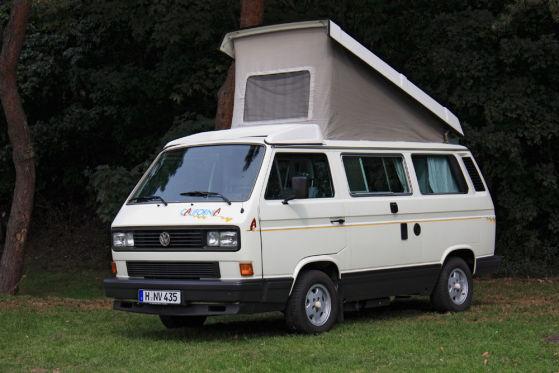 """Der VW-Bus T3 """"Bulli"""" wird 30 Jahre alt."""
