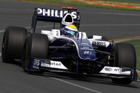 Formel 1 GP Australien 20009, Nico Rosberg Williams FW31