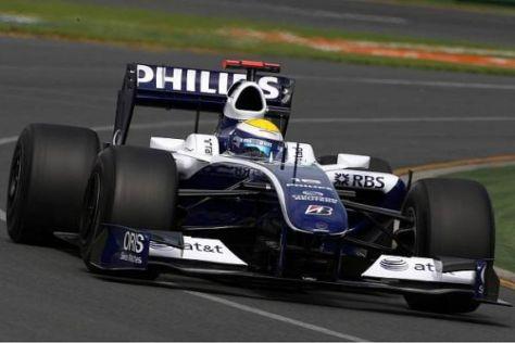Nico Rosberg hatte nach den zweiten 90 Trainingsminuten die Nase vorn