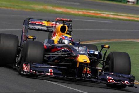 Mark Webber fuhr im 2. Freien Training in die Top 5