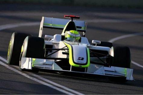 Jenson Button im Brawn: Hat sich die jahrelange Warterei doch gelohnt?