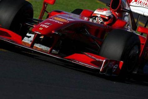 Auch bei Kimi Räikkönen lief es nicht ideal, aber dennoch nach Plan