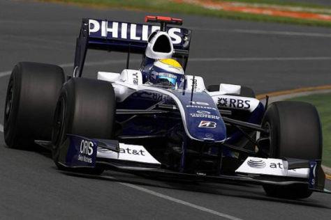 Formel 1, GP Australien 2009, Nico Rosberg Williams FW31