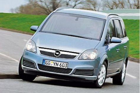Test Opel Zafira CNG