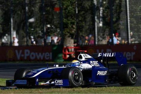 Nico Rosberg konnte P1 nicht das vierte Mal in Folge wiederholen...