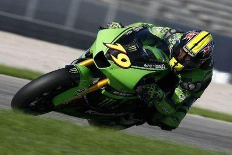 Olivier Jacque kennt die Maschine und steht Hayate in Jerez beratend zur Seite