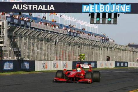 Ferrari in der Krise: Melbourne scheint genau wie 2008 keine Reise wert zu sein