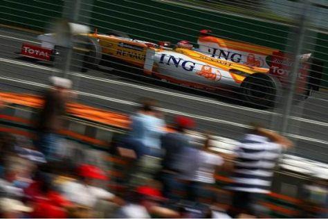 Im Moment ist sein Renault R29 noch kein Siegerauto: Fernando Alonso